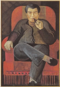 Portrait assis